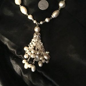 """String Of Pearls Necklace 26"""""""